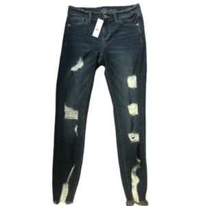 NY&Co distressed ankle jeans 6 NWT